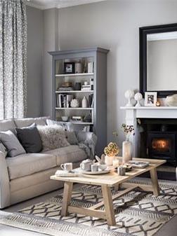 Ideas para decorar salones salas de estar y comedores for Idea sala de estar cuadrada
