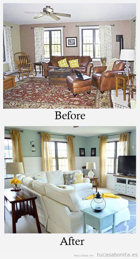 Ideas redecorar sala de estar