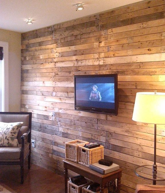 10 ideas para decorar las paredes tu casa con madera