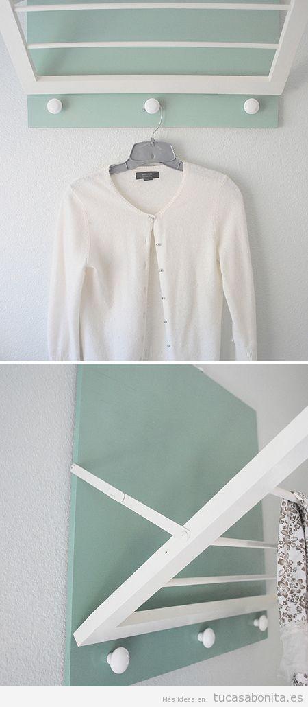ideas para decorar y organizar lavaderos pequeños 11
