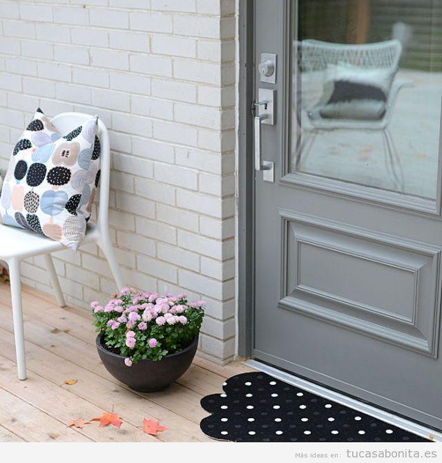 10 ideas para decorar la entada y el recibidor de tu casa - Ideas para decorar un piso de estudiantes ...