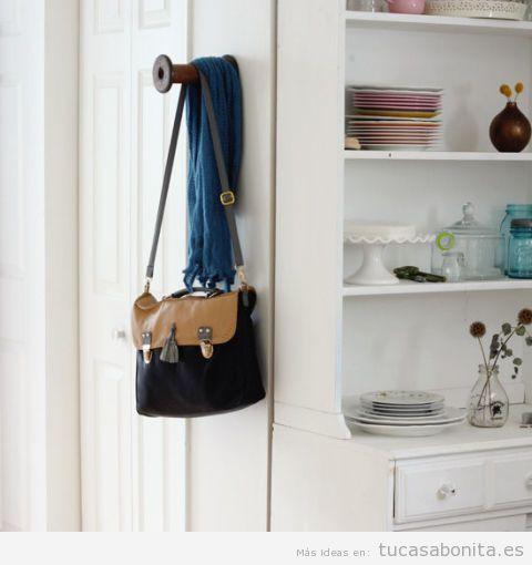 Ideas para decorar entradas y recibidores de un piso o casa 4