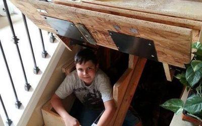5 ideas para aprovechar el hueco de la escalera