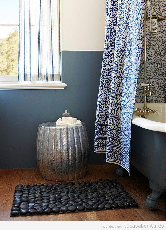 Ideas para decorar baños y lavabos pequeños 2