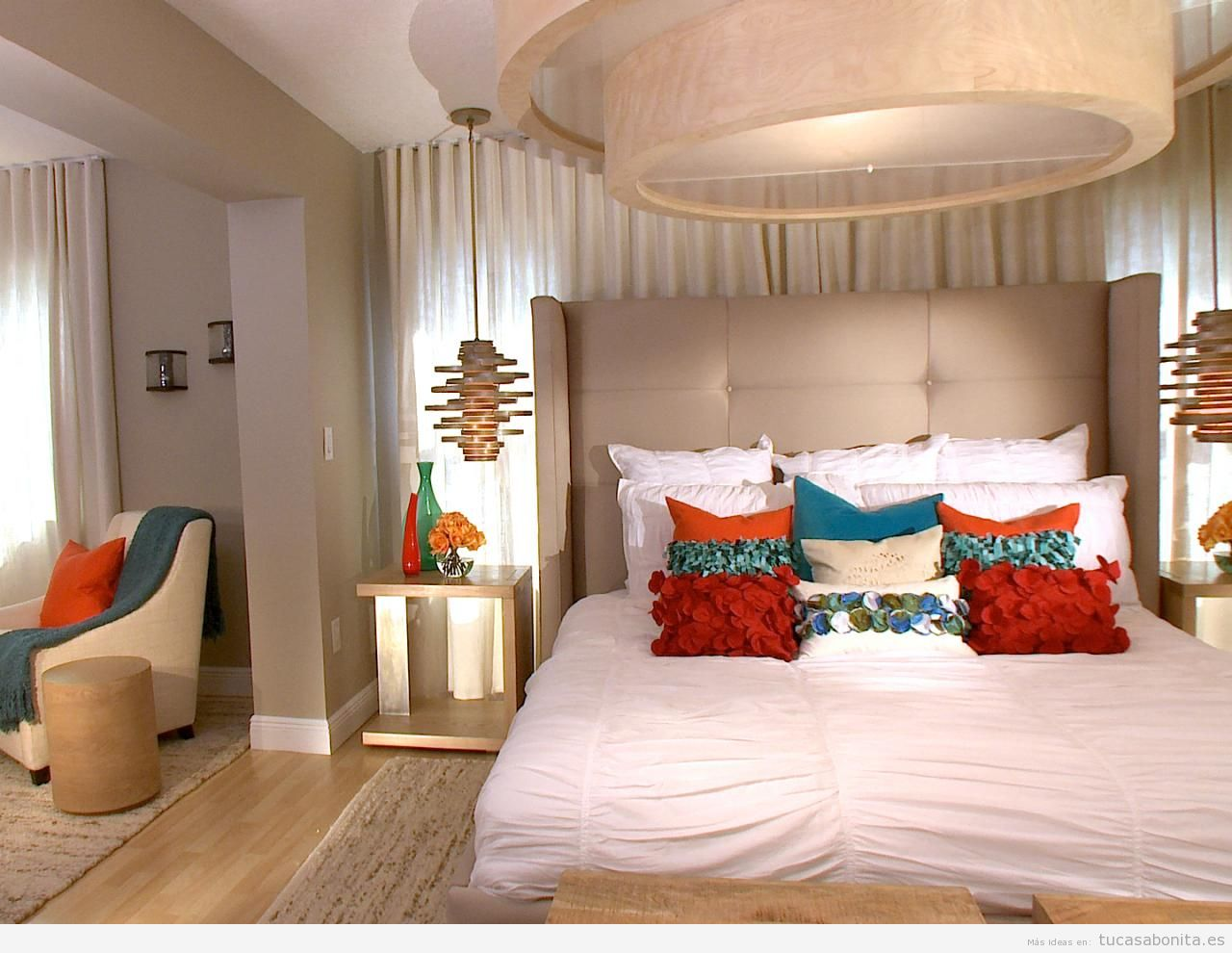 10 estilos diferentes para decorar un dormitorio de for Ideas decoracion recamaras