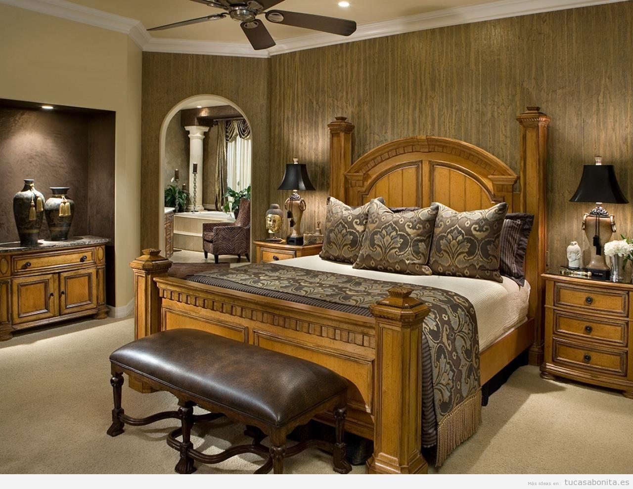 Ideas decorar dormitorio matrimonio, distintos estilos 7