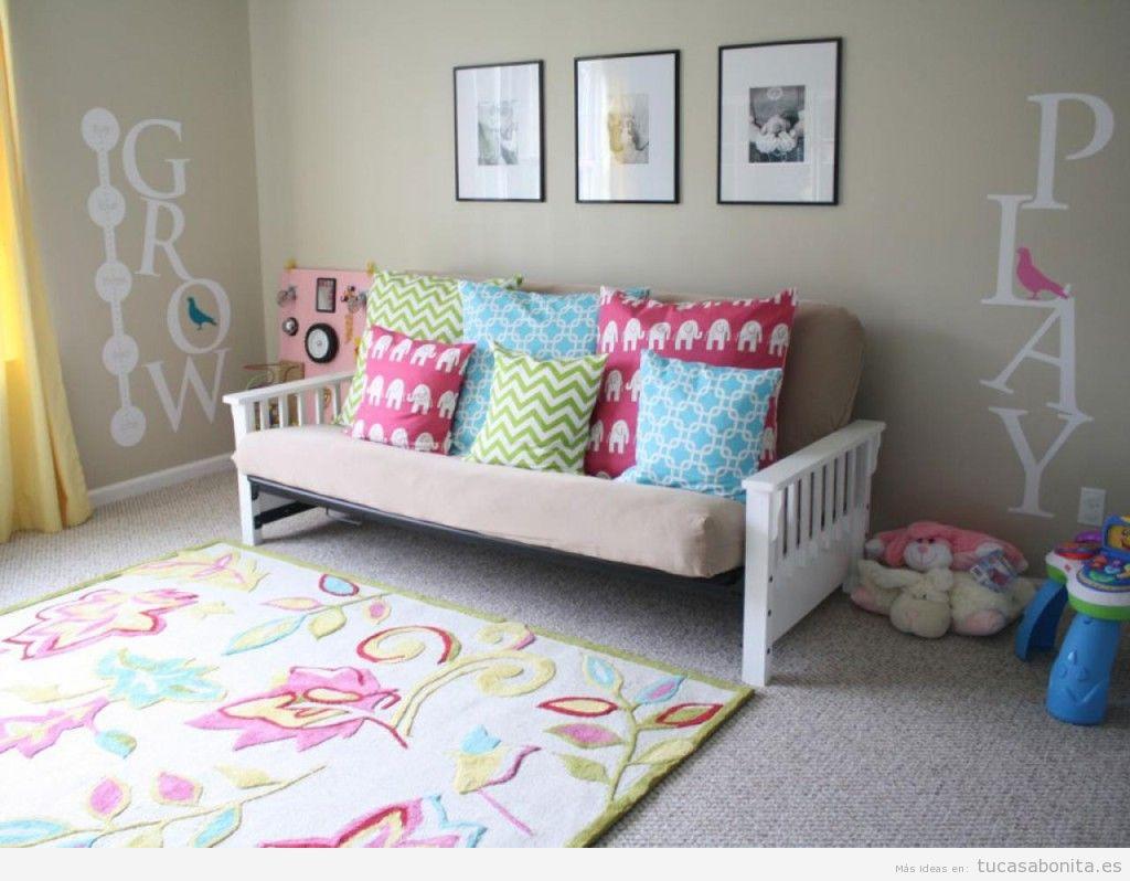 Ideas decoración habitación bebés y niños