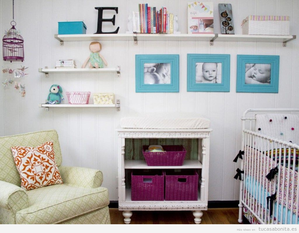 Ideas low cost para decorar habitación niños y bebés 7