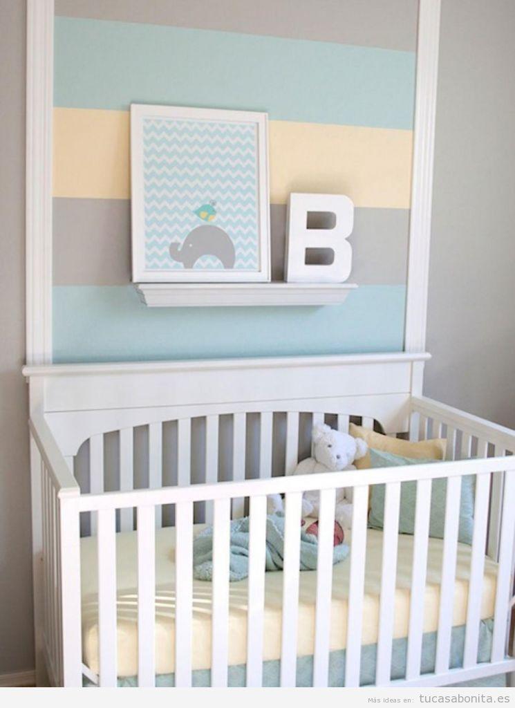 Ideas low cost para decorar habitación niños y bebés 3