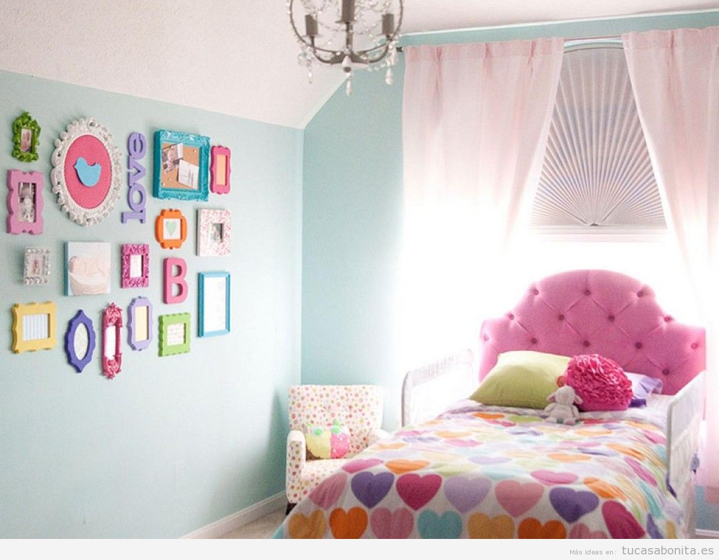 Ideas para decorar una habitaci n de beb y de ni o con - Decorar una habitacion de bebe ...