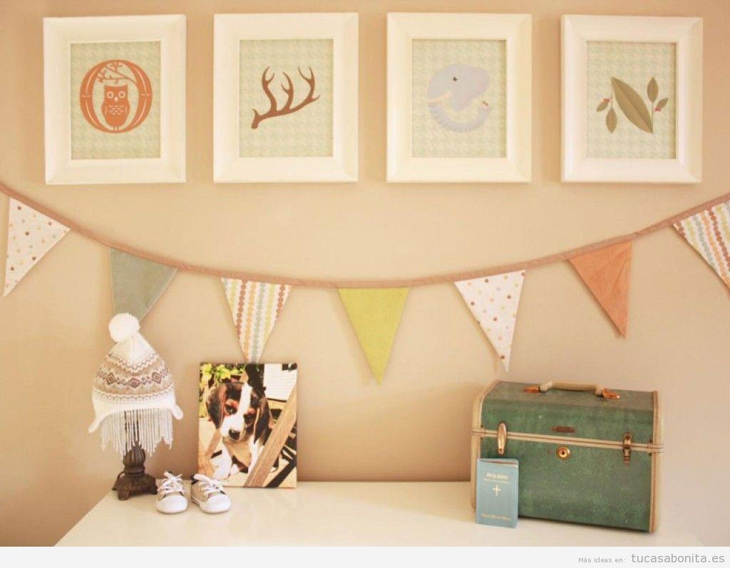 Ideas low cost para decorar habitación niños y bebés 5