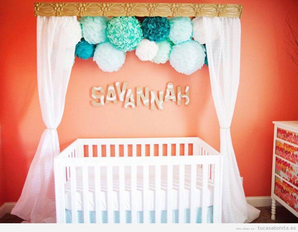 Ideas low cost para decorar habitación niños y bebés 4
