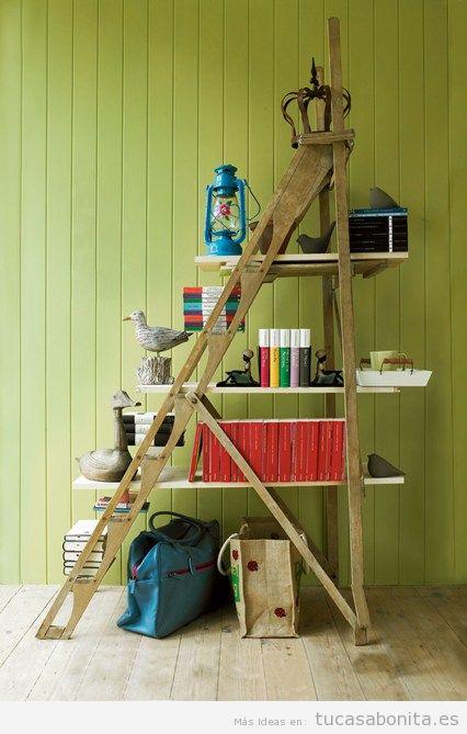 Ideas para decorar la casa con estanterías de libros y bibliotecas 6