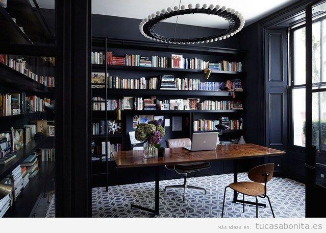 Ideas para decorar la casa con estanterías de libros y bibliotecas