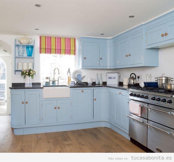 10 fotos de cocinas grises ideas para decorar dise ar y - Disenar tu cocina ...