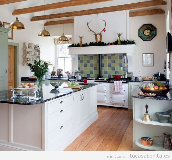 Rural tu casa bonita ideas para decorar pisos modernos - Cocinas ideas para decorar ...