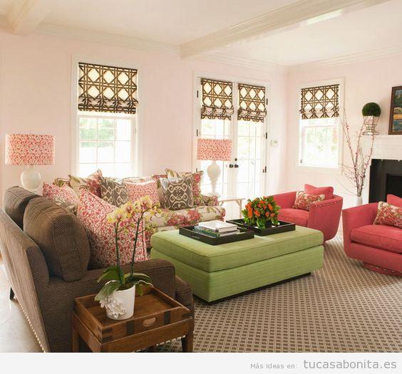 Ideas decoración sala de estar moderna 3