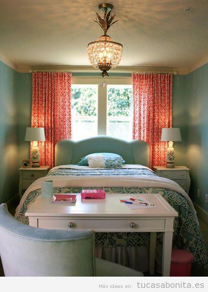 Ideas preciosas para decorar dormitorios o habitaciones de - Ideas para decorar un dormitorio de matrimonio ...