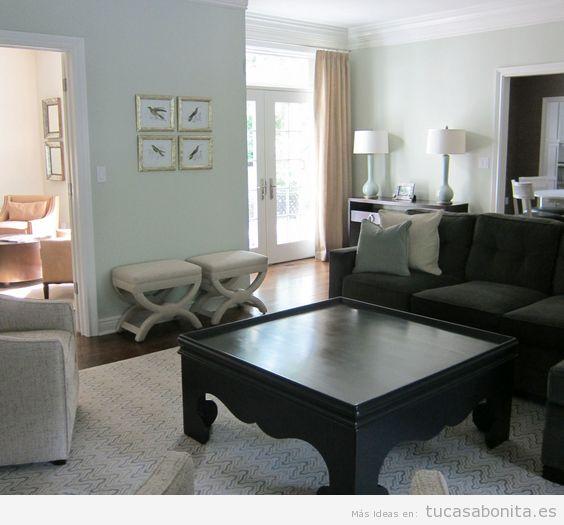 Ideas decoración sala de estar moderna 5