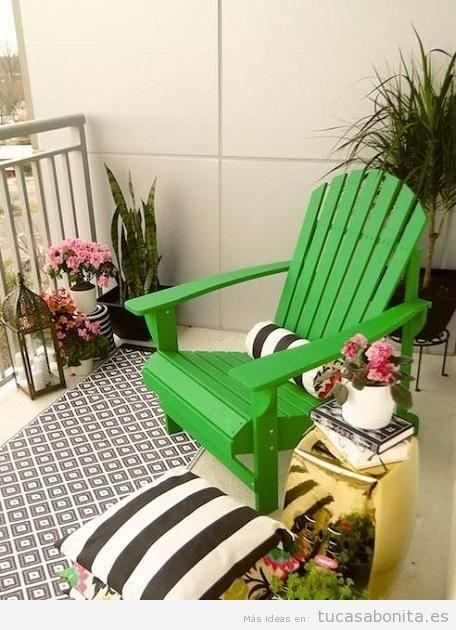 10 ideas para decorar un balc n peque o tu casa bonita for Ideas para decorar pisos pequenos