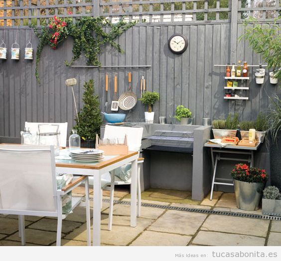 8 ideas para decorar terrazas jardines o patios tu casa for Decoracion patios exteriores fotos