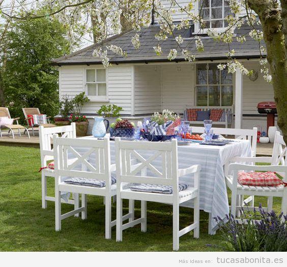 Ideas decoración patios, terrazas y jardines 2