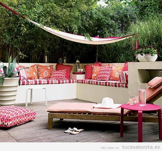 Ideas decoración patios, terrazas y jardines 5