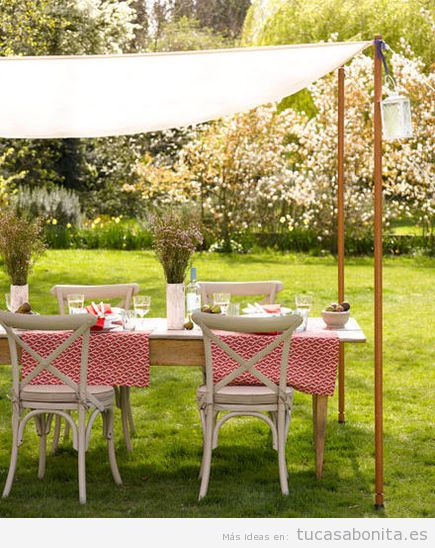 8 ideas para decorar terrazas jardines o patios tu casa for Patios decorados