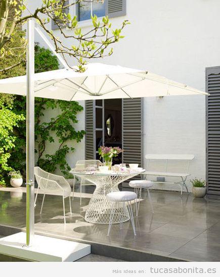 Ideas decoración patios, terrazas y jardines 6