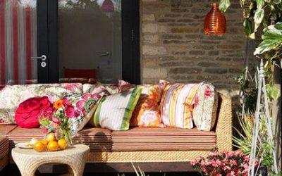 8 ideas para decorar terrazas, jardines o patios