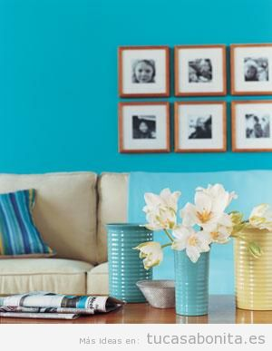 Ideas baratas decorar salón casa 3