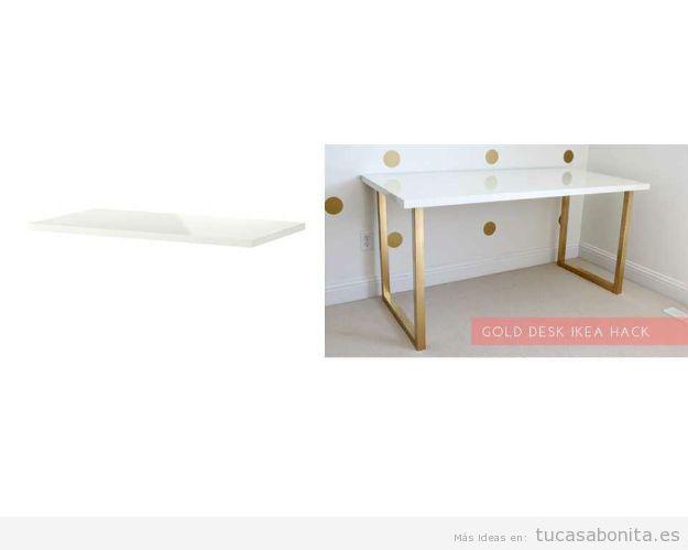 Ideas Ikea Hacks escritorio