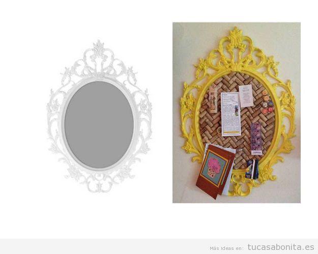 Ideas Ikea Hacks espejo