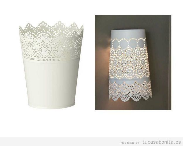 Ideas Ikea Hacks lámpara