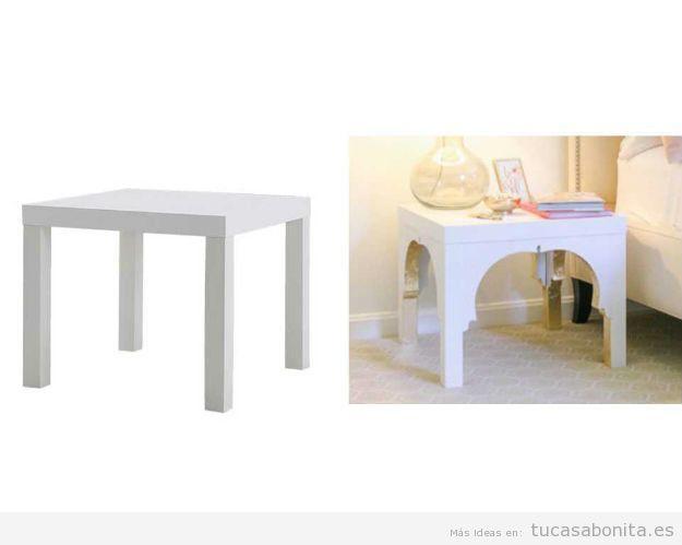 Ideas Ikea Hacks con mesa Lack