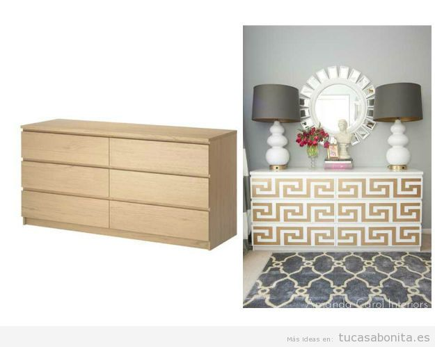 10 alucinantes ideas para modificar diy muebles y for Pegatinas para muebles
