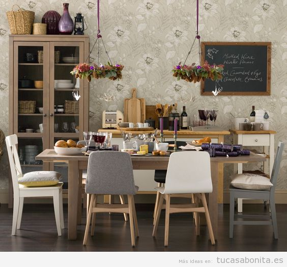 5 ideas para decorar un comedor (Parte 1)