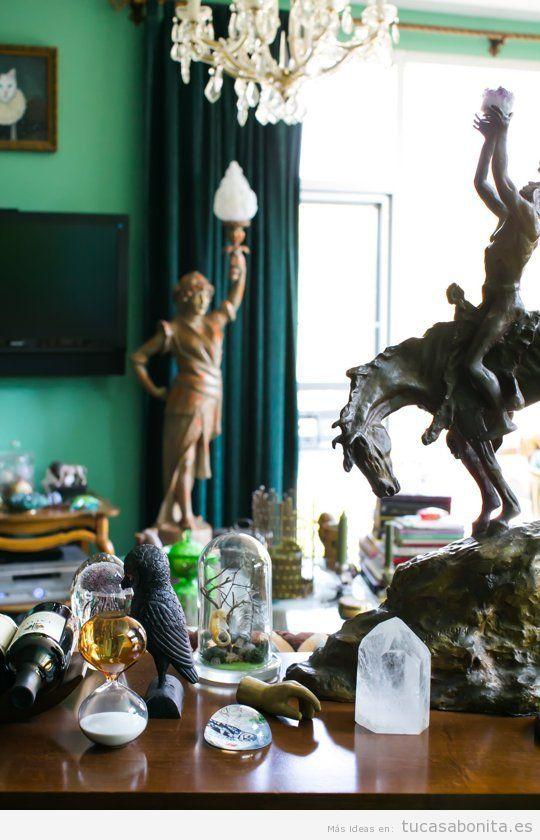 Ideas baratas para la decoración de una sala de estar 4