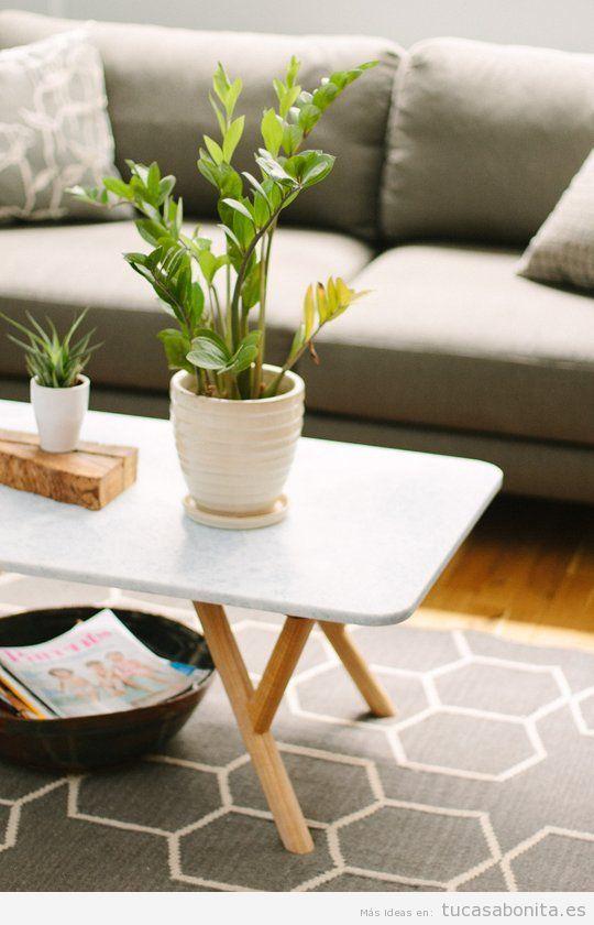 Ideas baratas para la decoración de una sala de estar 3