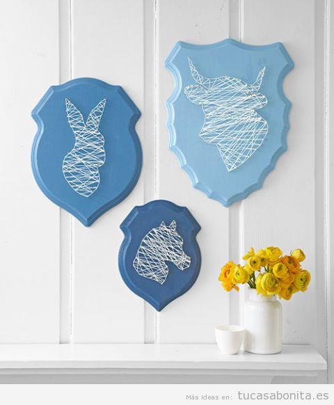Manualidades originales y bonitas para decorar la pared de casa 3