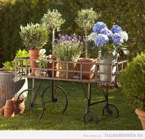 Decoración bonita y original de jardines y patios 4