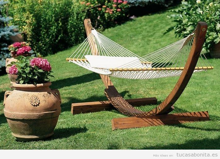 Decoración bonita y original de jardines y patios 5