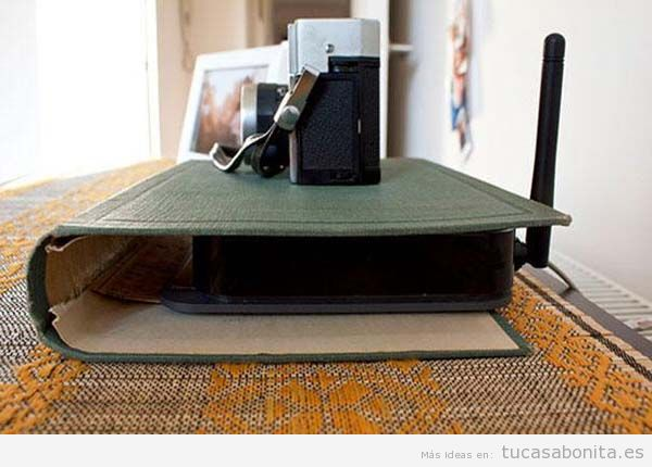 Ideas DIY esconder router 2
