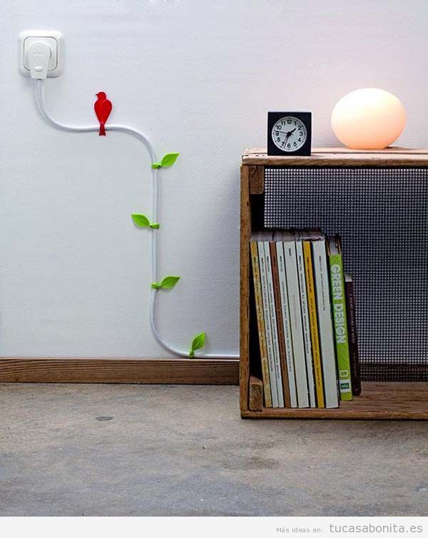 Ideas originales para esconder los cables en tu casa o piso 3