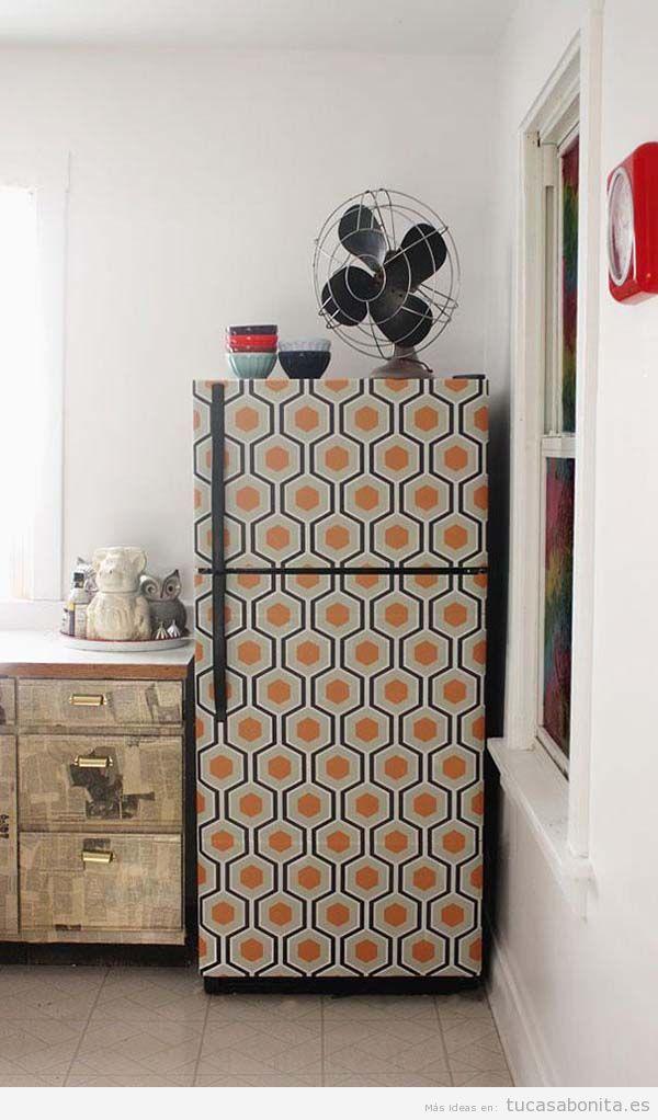 Ideas DIY para decorar electrodomésticos feos 2