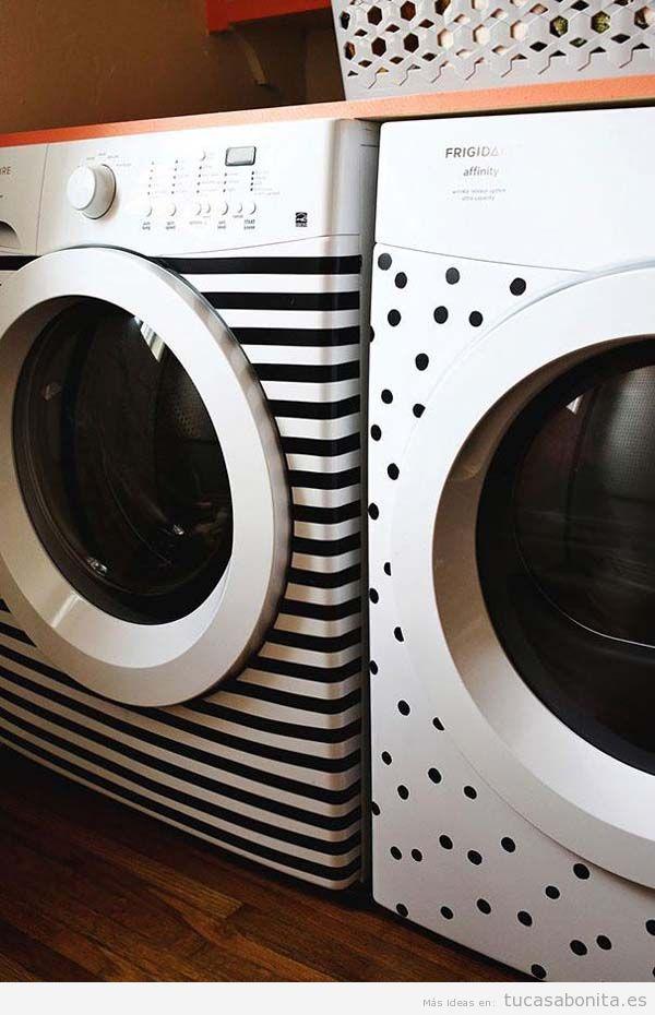 Ideas DIY para decorar electrodomésticos feos 3
