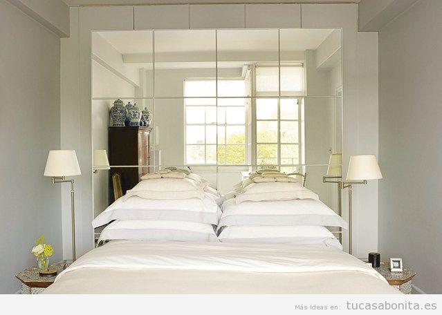 Ideas para amueblar y decorar una habitación de matrimonio pequeña