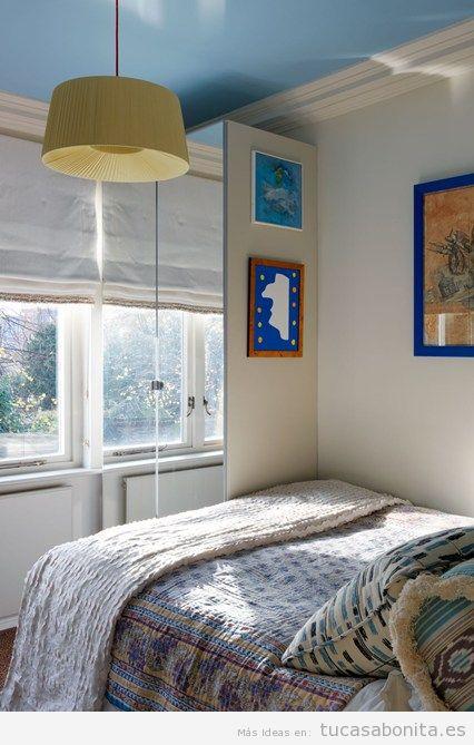 Ideas decoración dormitorio matrimonio pequeño 4