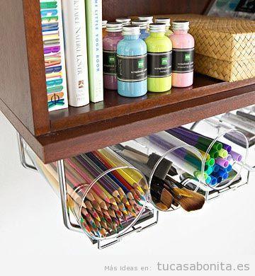 Ideas para decorar un despacho en casa tu casa bonita - Decorar despacho en casa ...