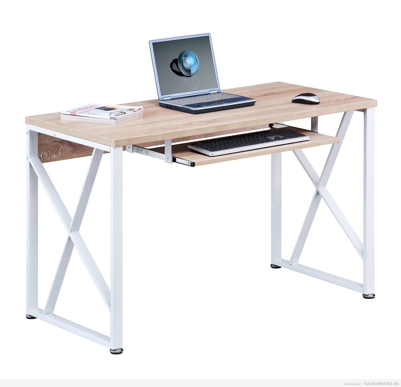 Mesa para ordenador tu casa bonita - Mesas para ordenador pequenas ...